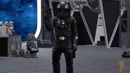 Tie Fighter Pilot - Star Wars model pack