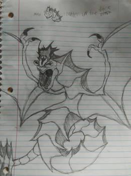 Hunter in the dark (Nyarlathotep)