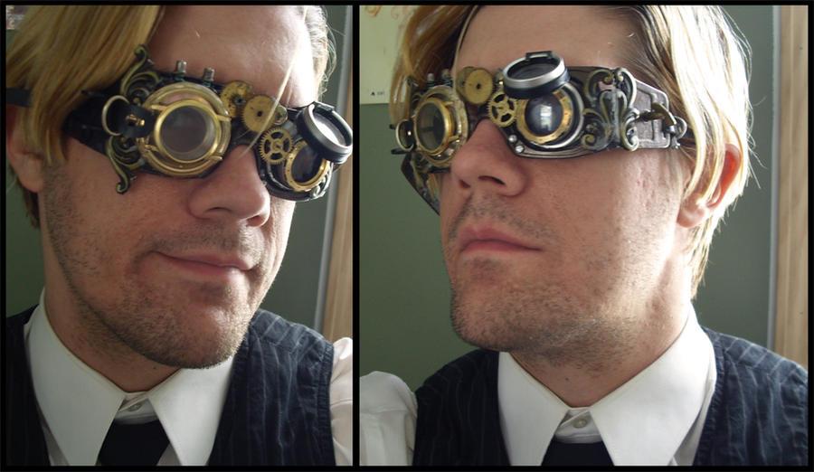 steampunk goggles by DracoDarkblade