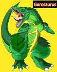 Gorosaurus redesigned