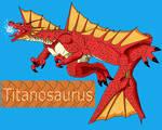 Titanosaurus redesigned
