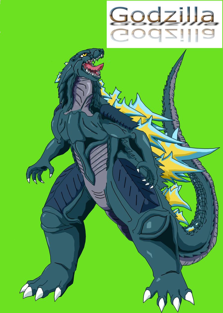 Godzilla Redesigned