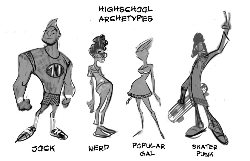 Image result for high school archetypes