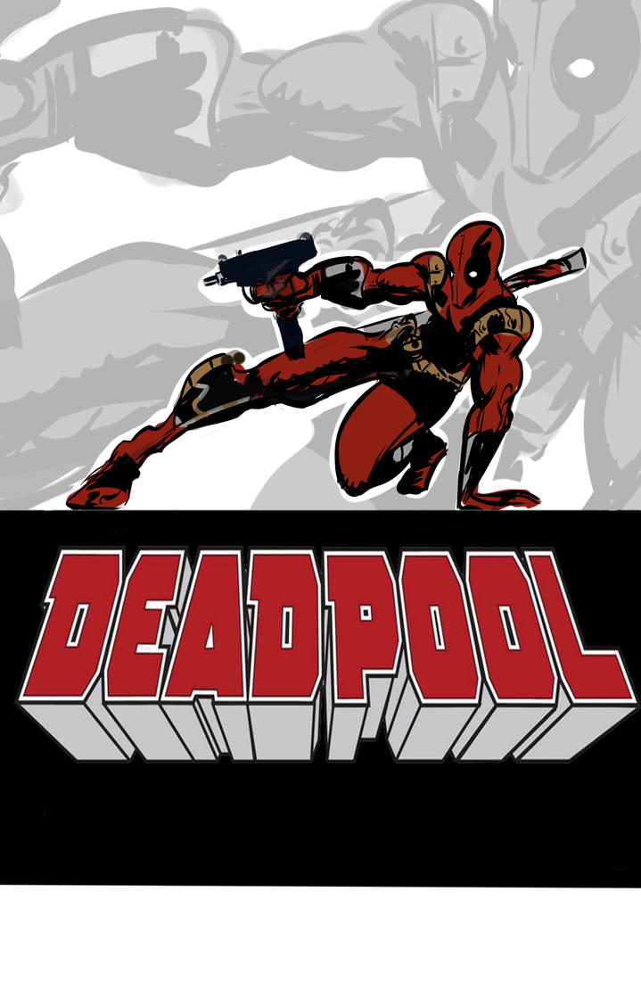 DEADPOOL GRAPHIC NOVEL COVER by TOBY71