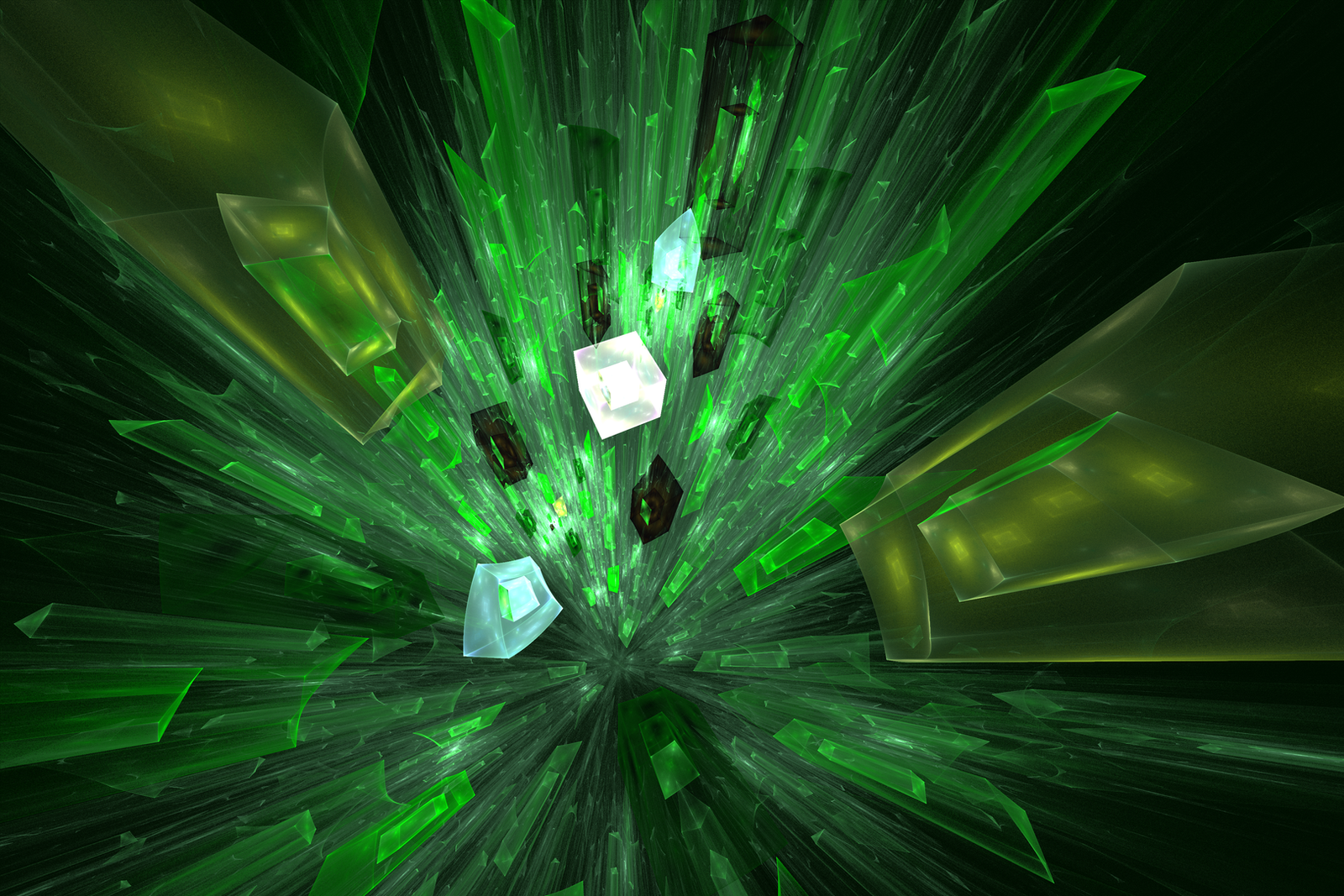 Shattering Green Glass by mps21877
