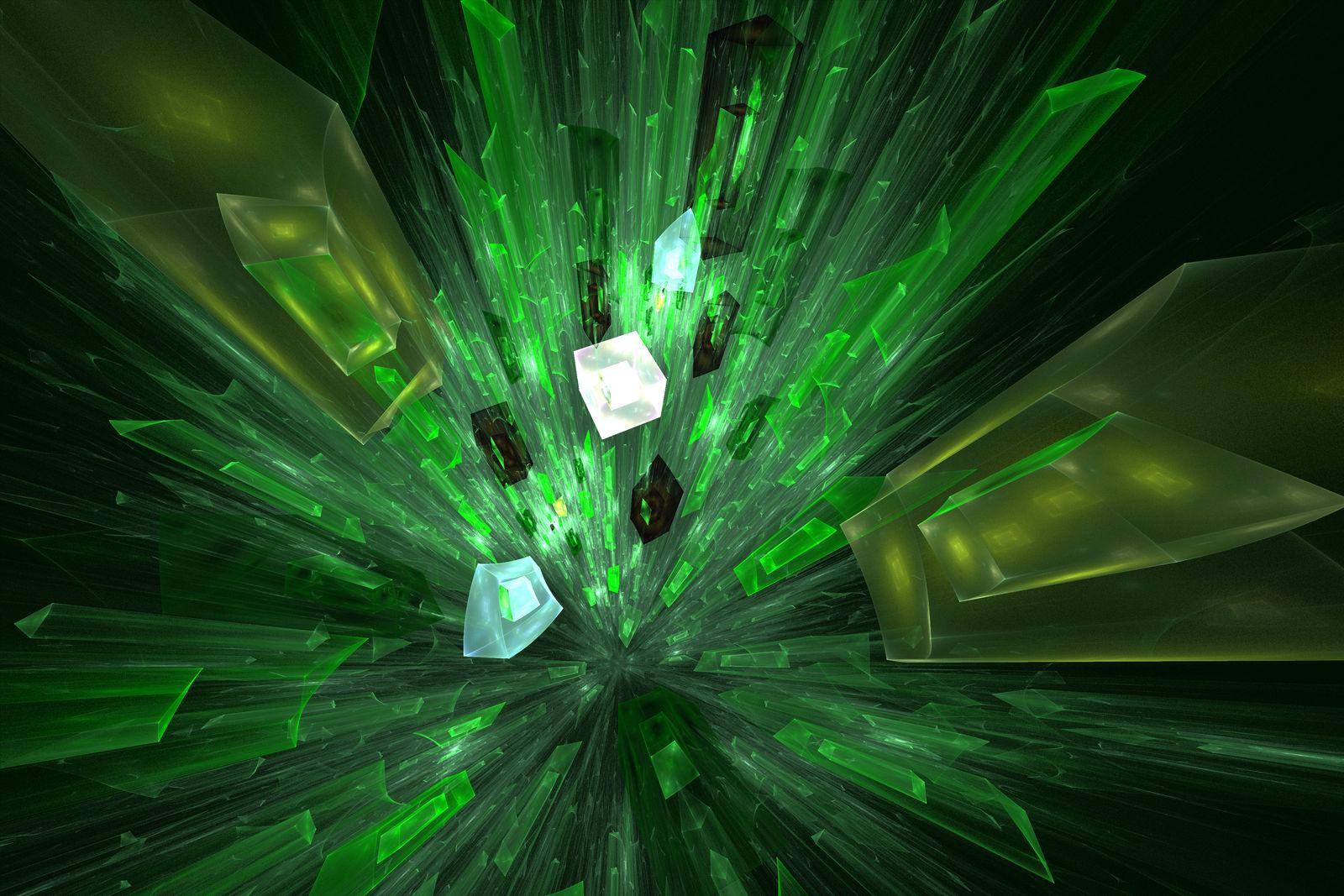 Shattering Green Glass