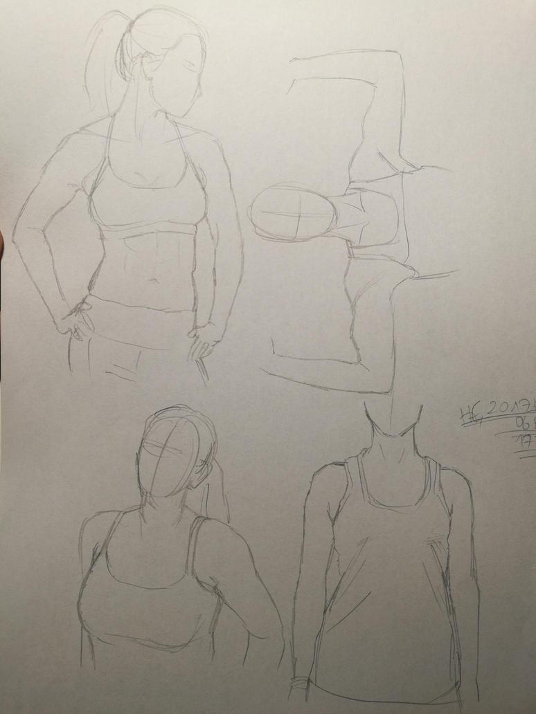 Female Anatomy Practice by Dakiaty on DeviantArt