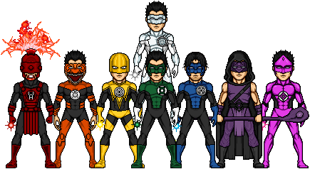 Kyle Rayner Collection by PreteritusYoung Justice Kyle Rayner