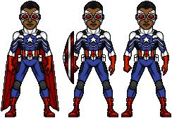 Sam Wilson Captain America by Preteritus