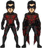 Tim Drake Red Robin by Preteritus