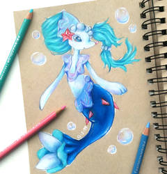 Primarina by Galactic-sky-99