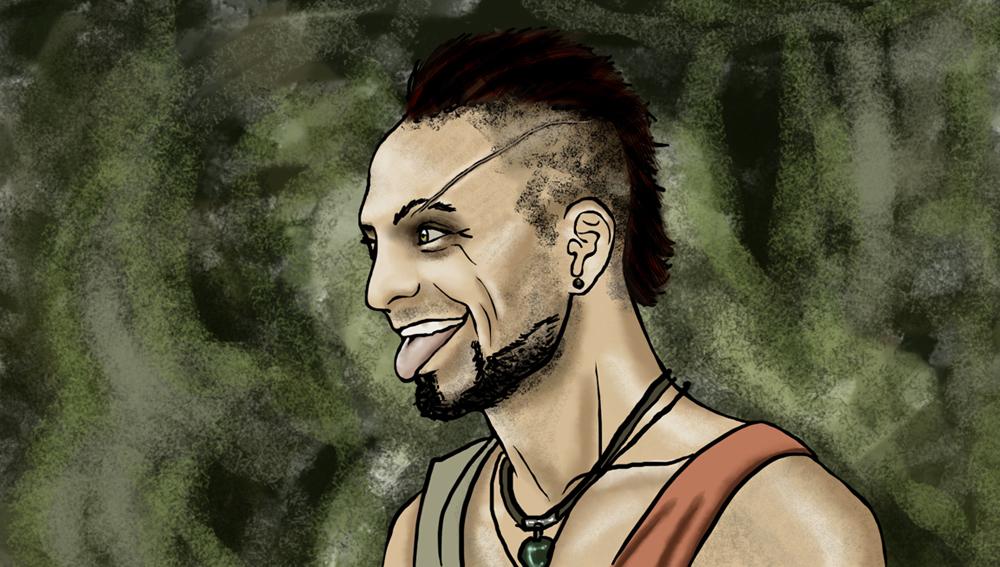 Fanart Vaas Montenegro Far Cry 3 by ferriore on DeviantArt