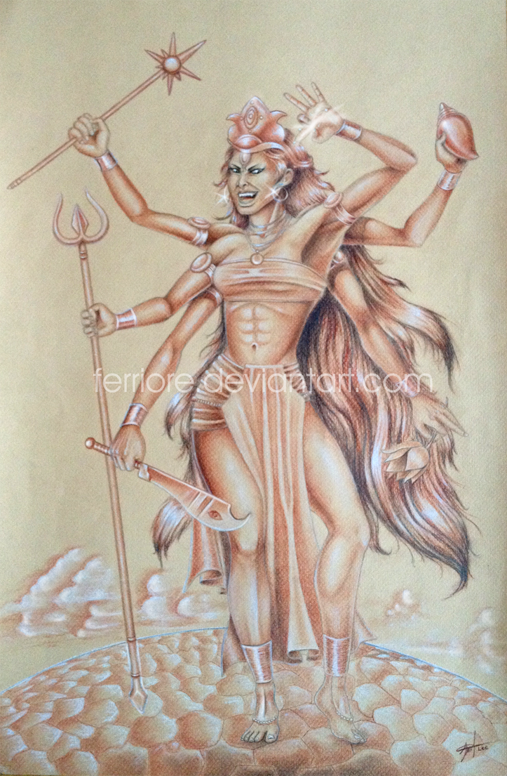 Kali, fury of a goddess by ferriore