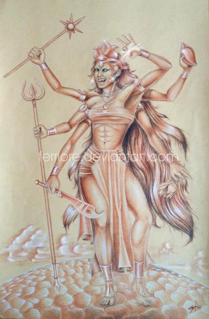 Kali, fury of a goddess