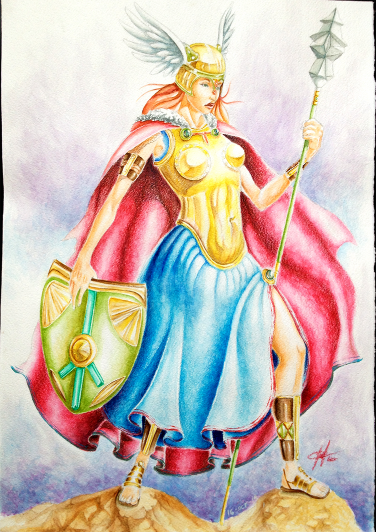 Valkyrie by ferriore