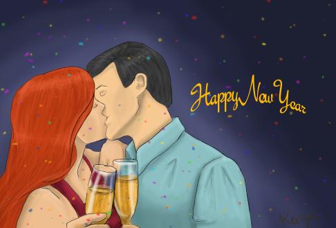 Dickbabs New year by queenmeisterladymeis