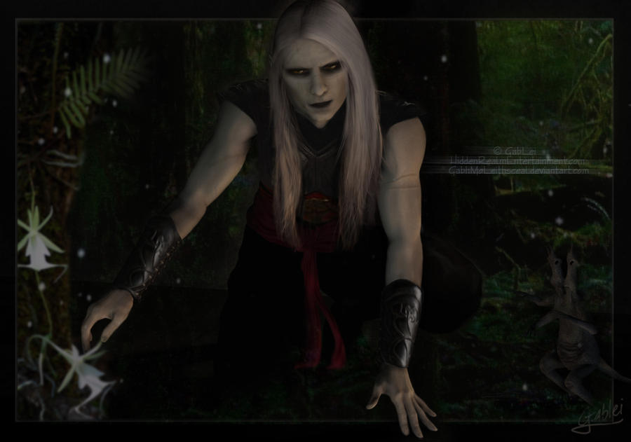 Prince Nuada Ghost Orchids by GabbyLeithsceal