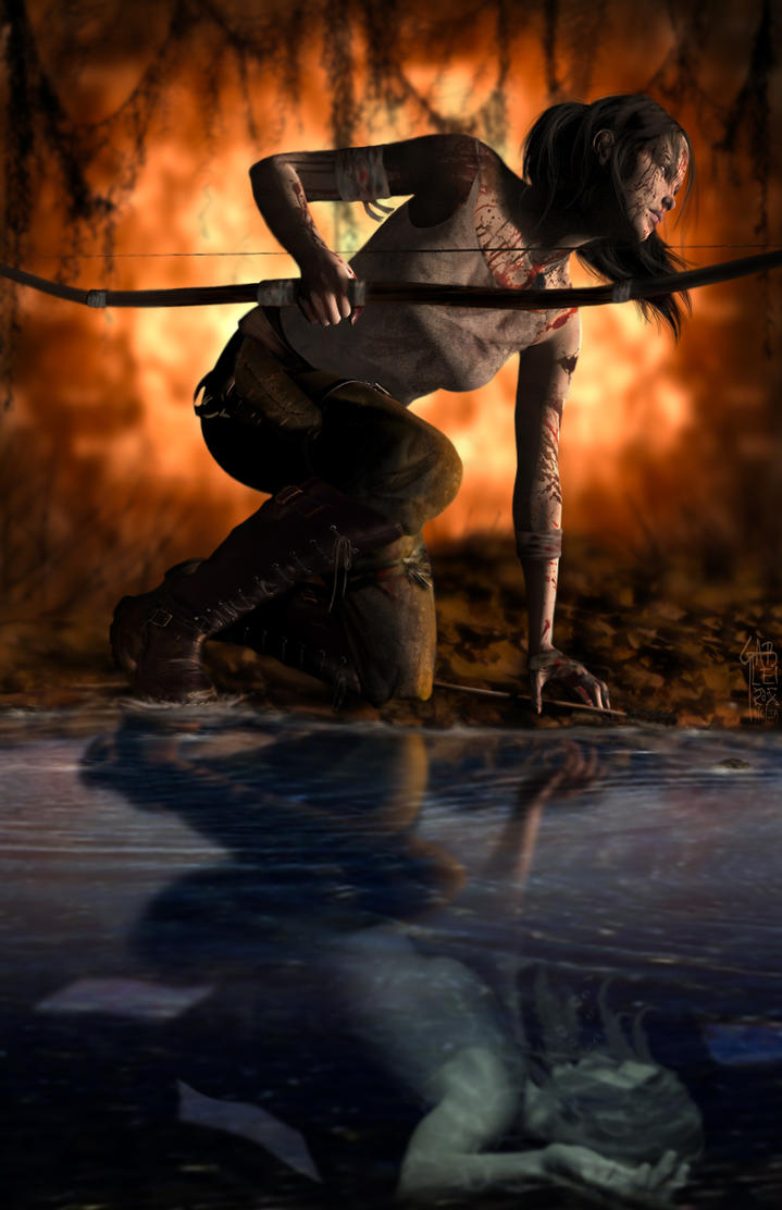 Sink or Survive - Tomb Raider Reborn by GabbyLeithsceal