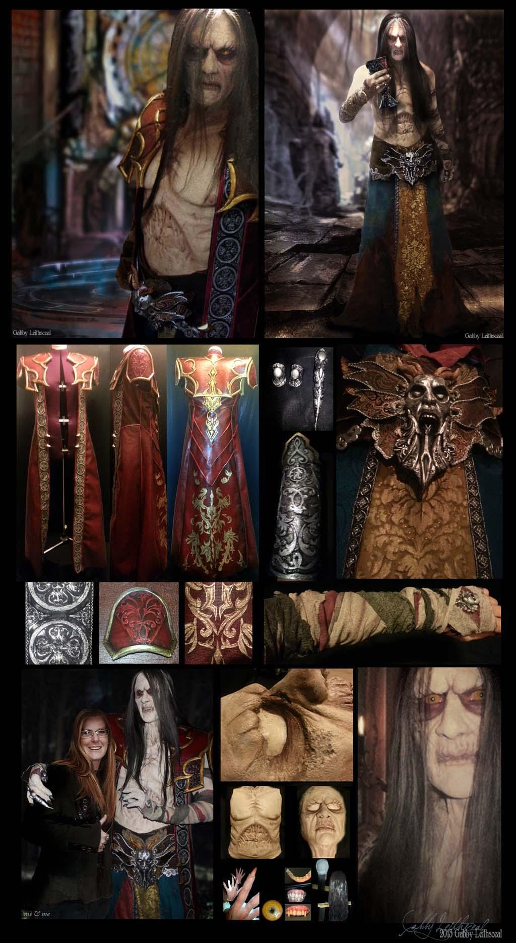 Gabriel Belmont (Dracula) Cosplay by GabbyLeithsceal