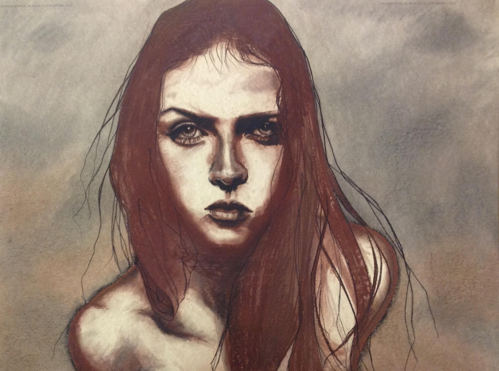 Red Girl by ArtByAWK