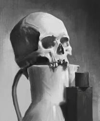 Skull - Painting practice