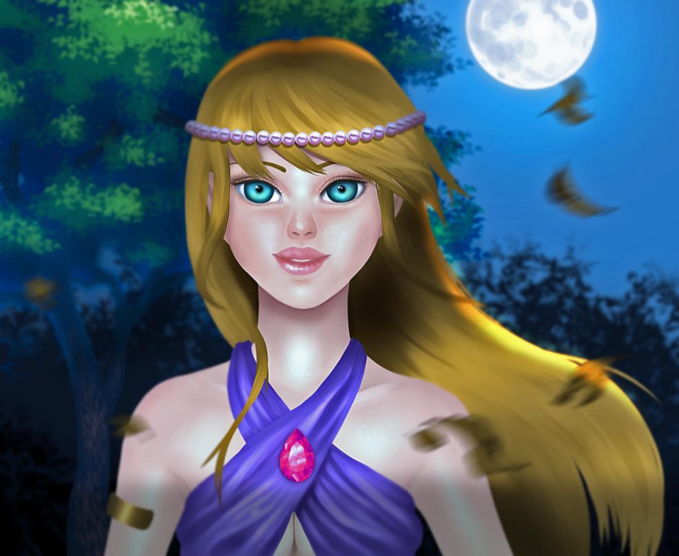 Moonlight by Chantal90