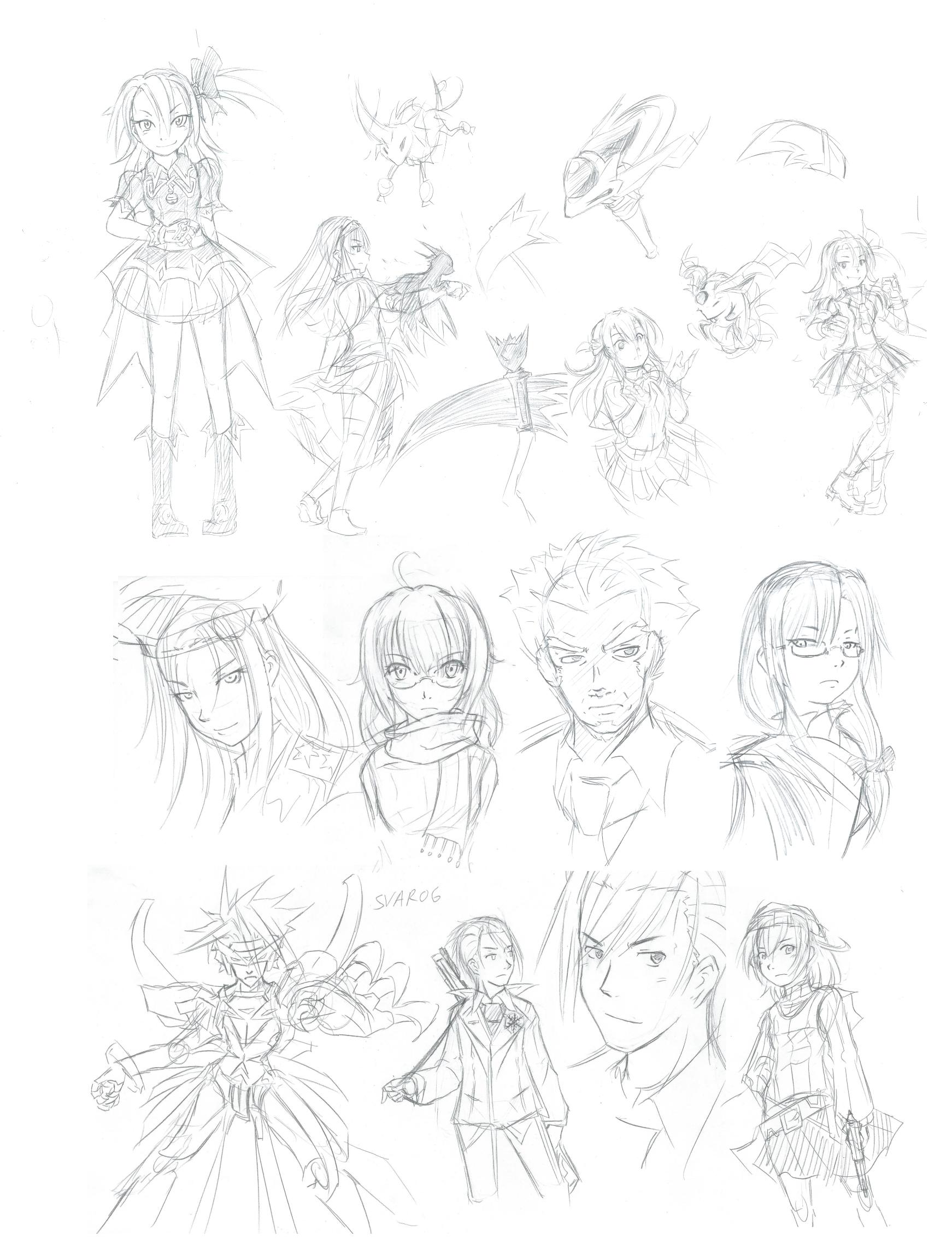 2013 Sketchdump 1 by L-Rossfellow