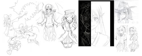 2013 Sketchdump 2 by L-Rossfellow