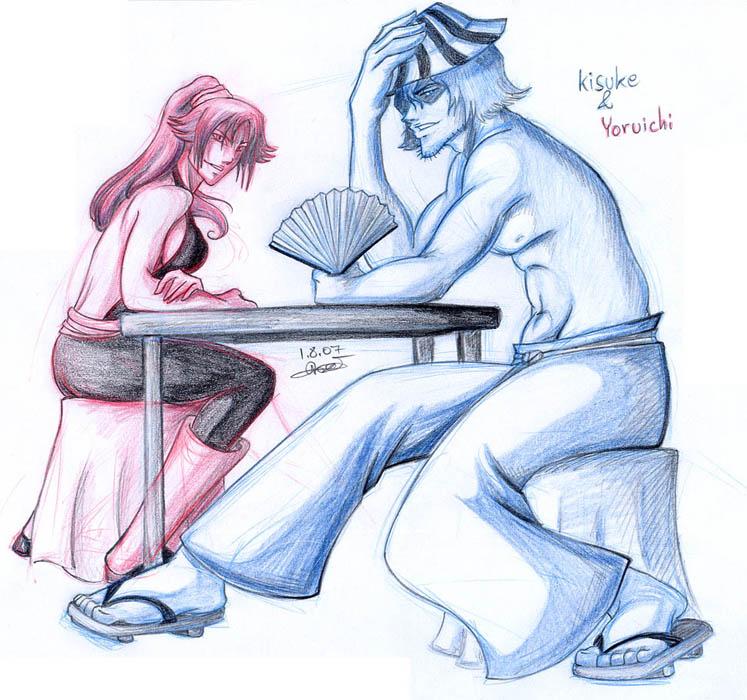 kisuke and yoruichi relationship with god