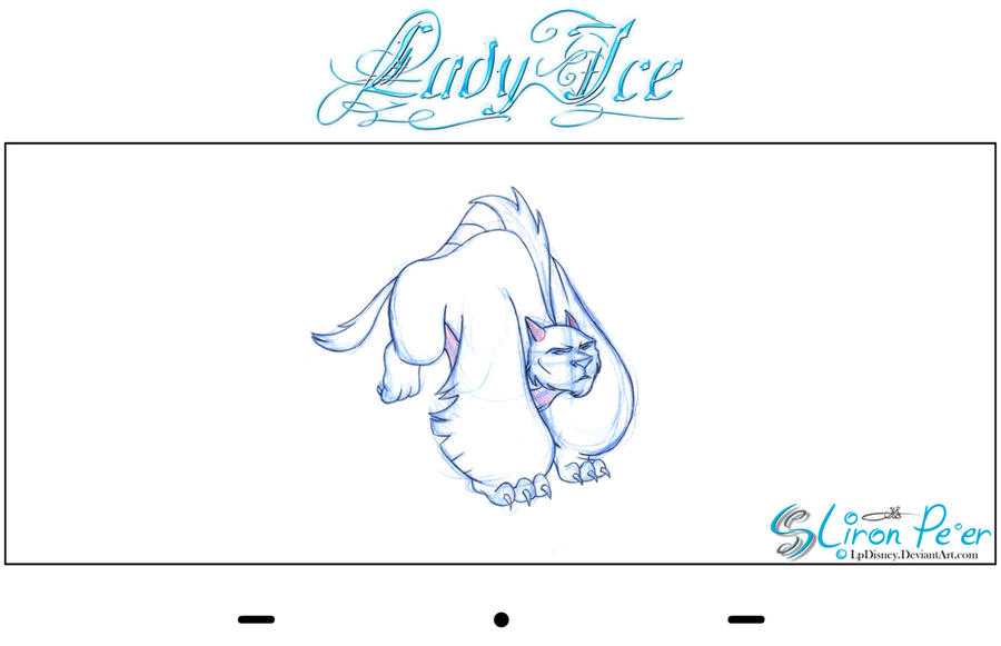 Lady Ice - Beast Rough 01 by LPDisney