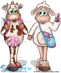 Lilly Sheep and Bella Cow 02 (Studio Comx 2012)