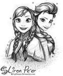 Anna and Elsa 01 + 02/16