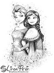 Anna and Elsa 02 + 02/16