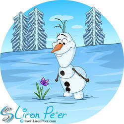 Olaf In Summer (Shirt Design)