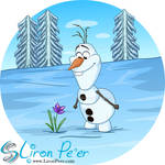 Olaf In Summer (Shirt Design)