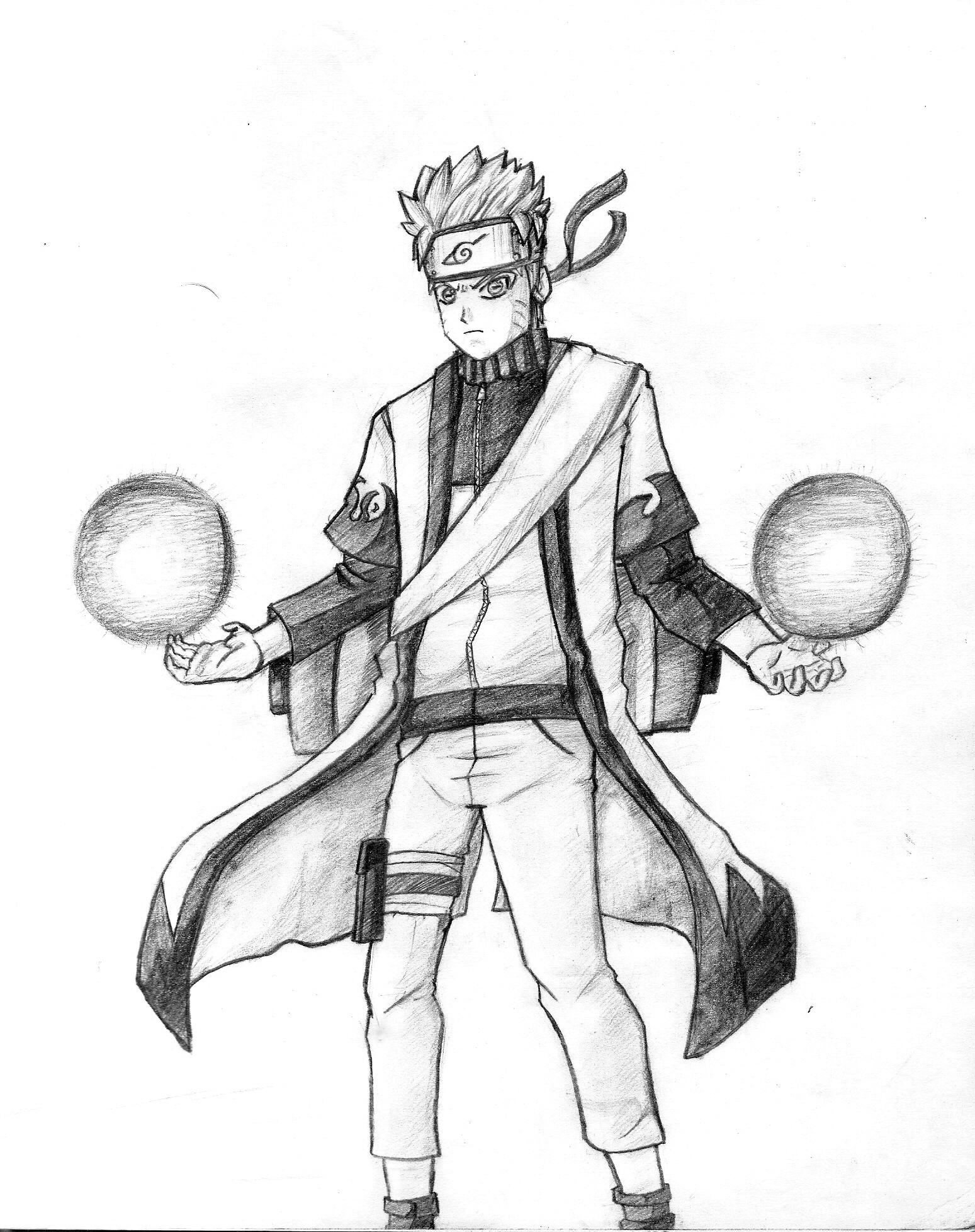 Naruto Sage Mode by toonager on DeviantArt
