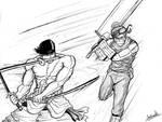 Roronoa Zoro vs Zabuza Momochi