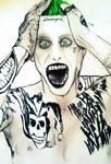 Jared Leto Joker Fanart