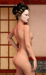 Geisha by LeLapinErotique