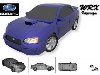 Subaru Stunt Car by Skull-Samurai