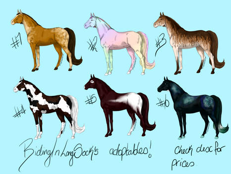 Adoptables! Point Auction and direct buy avaliable