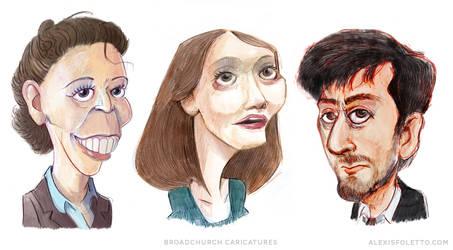Broadchurch Caricatures