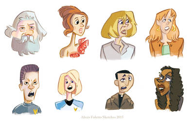 Various Sketches Series and movies