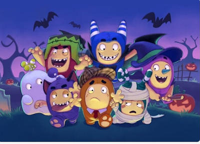 Oddbods Party Monsters A Mini Movie For Kids By Floeelena On Deviantart