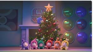 Baby Oddbods On Christmas