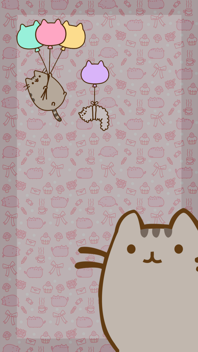 Beautiful Wallpaper Love Smartphone - pusheenwallpaper_by_myrellibelli-d6ndgiv  Photograph_161965.png