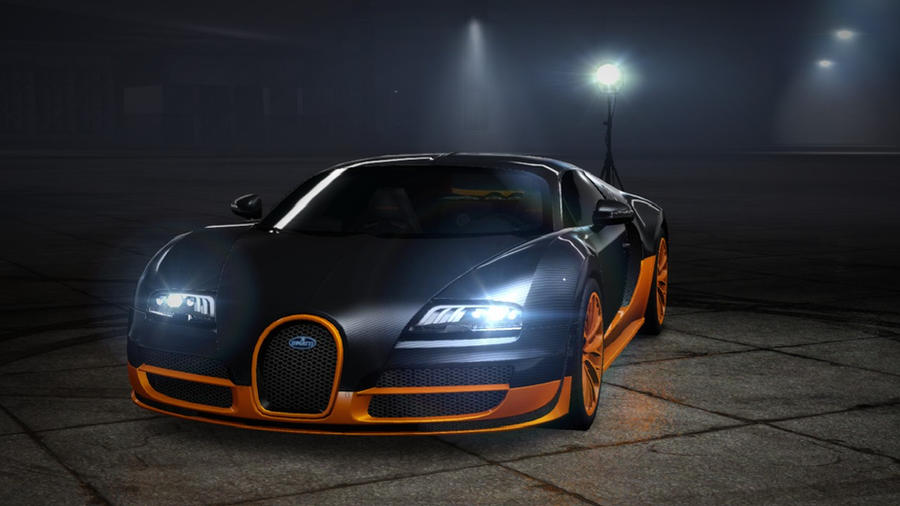 Veyron ss nfs by daz1200