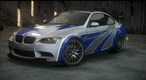 BMW M3 most wanted. the run