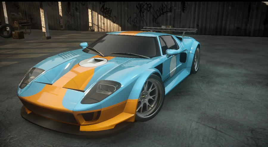 Nfs The Run Ford Gt By Dazkrieger