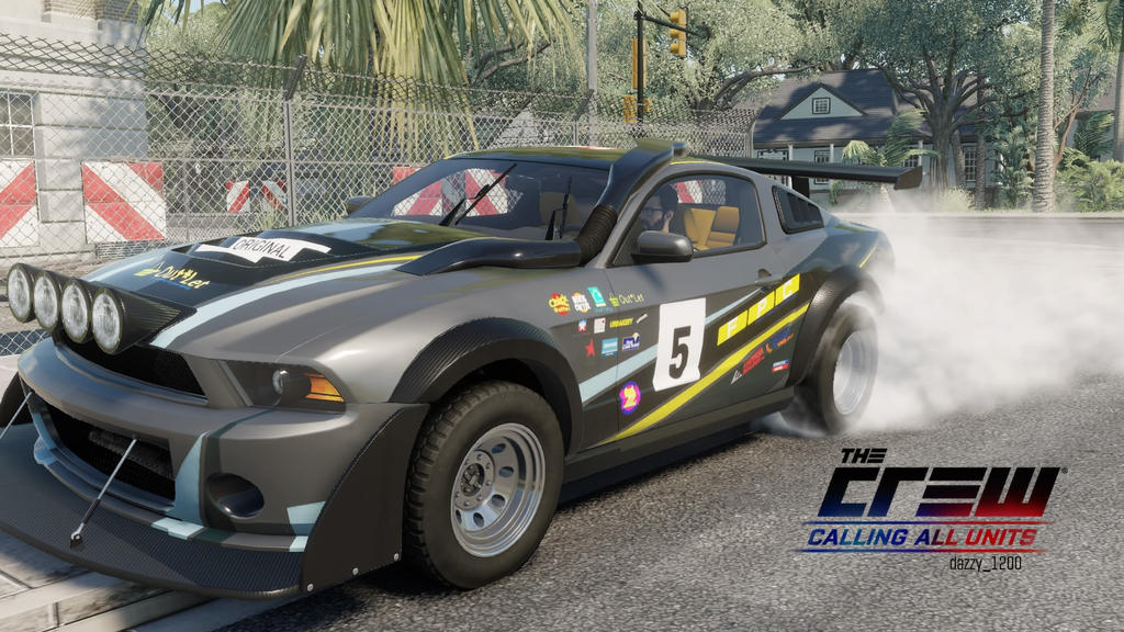 Ford Mustang Offroad The Crew By Dazkrieger On Deviantart